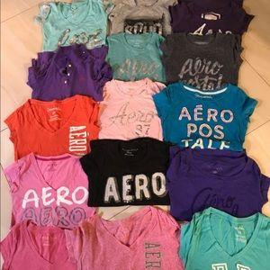 18 Aeropostale shirts small